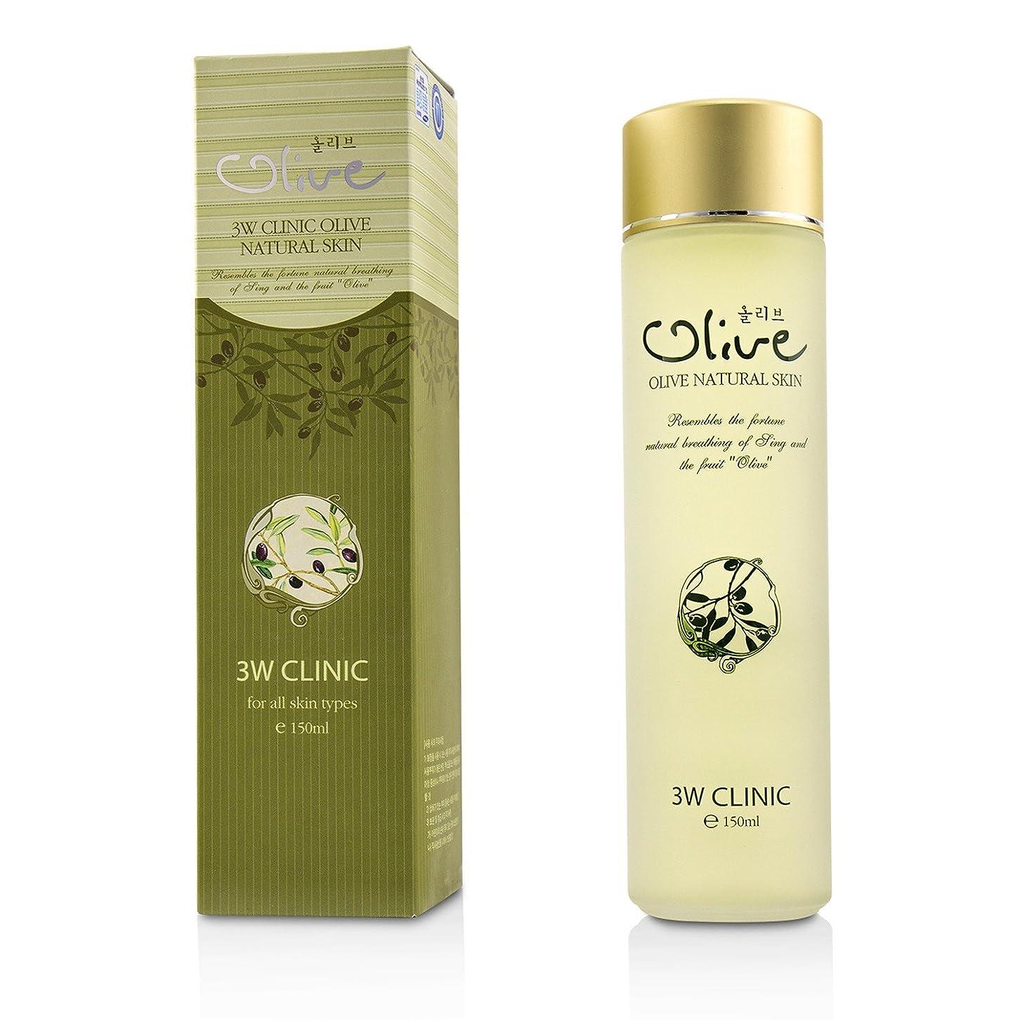 信じるでる物足りない3Wクリニック Olive Natural Skin 150ml/5oz並行輸入品