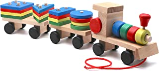 Wooden Train (Wooden Train with Blocks)