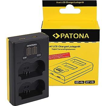Patona Dual Lcd Usb Ladegerät Für Np W235 Akkus Kamera