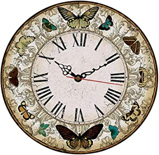 MGT0055 (30 x 30 cm) Analog wood-Wall Clock multi color