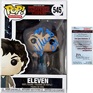 Millie Bobby Brown Autographed POP Funko 545 Eleven - Stranger Things