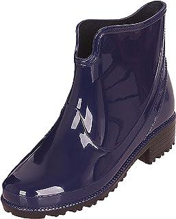 CCZZ dames rubberlaarzen korte rubberen laarzen modieuze regenlaarzen paardrijlaarzen laarzen regenlaarzen regenlaarzen ma...