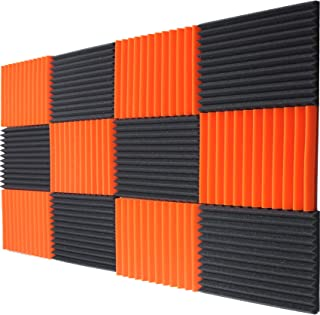12 - Pack Acoustic Panels Studio Foam Wedges 1