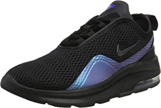 Women's Air Max Motion 2 Running Shoes, Black/Anthracite-Racer Blue