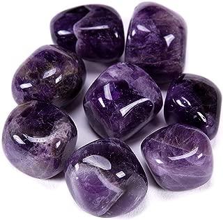 dark purple tumbled stone