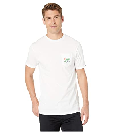 Vans Scene 12 Pocket T-Shirt (White) Men