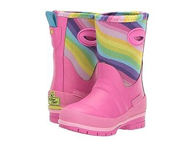 Western Chief Kids Glitter Rainbow Neoprene Boot (Toddler/Little Kid/Big Kid) (Multi) Girls Shoes