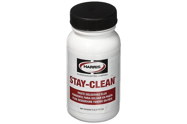 Harris SCPF4 Stay Clean Paste Soldering Flux, 4 oz. Jar