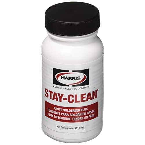 Harris SCPF4 Stay Clean Paste Soldering Flux, 4 oz. Jar