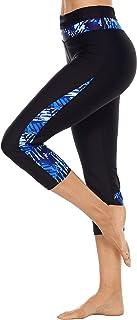 ATTRACO Women's Stripes Print Tankini Swimsuits Modest 2 Piece Swimwear Set