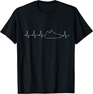 Sneakerhead Shirt Heartbeat, sneaker tee for kicks addicts