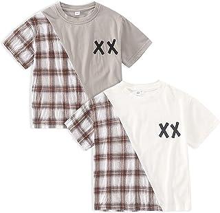 Boys 2 Pack Summer Tee Shirt Top Sets Kids Tshirts Age 4-10 Years