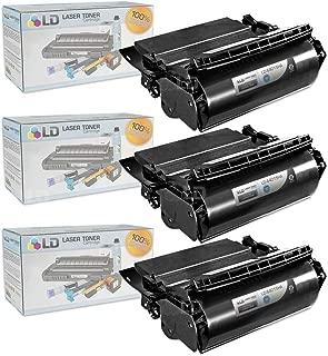 LD Compatible Lexmark 64015HA Set of 3 Black Laser Toner Cartridges for The T644tn, T642dtn, T640, T642tn, T640dtn, T644dn, T640tn, T644n, T642dn, T642n, T640dn, T644, T640n, T644dtn, T642 Printers