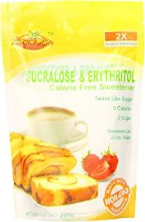 Natural Mate Sweetener, Sucralose and Erythritol, 1 Pound