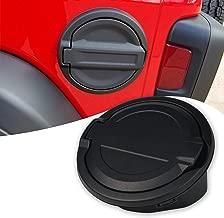 TURBO SII Gas Cap for Jeep JL Fuel Filler Door Cover Gas Tank Cap for 2018 Jeep Wrangler JL JLU 2/4 Door