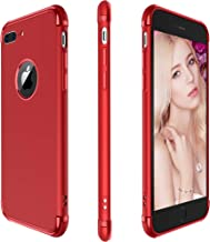 iPhone 8 Plus Case / 7 Plus Case, Meifigno 3 in 1 Hybrid Stylish Case,[Compatible with Wireless Charging], Urtal Silm Soft TPU & Hard PC Frames, for Apple iPhone 5.5