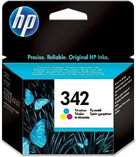 HP C9361EE 342 Original Ink Cartridge, Tri-Colour, Single Pack