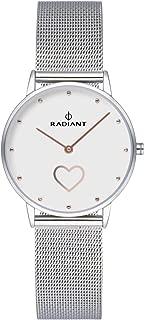 Radiant heart Womens Analog Quartz Watch with Stainless Steel bracelet RA540603