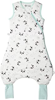 Tommee Tippee Tommee Tippee Steppee Strampler, Babyschlafsack mit Füßen, Ganzjährig, Original Grobag, 18-36m, 80-95cm, 2.5 Tog, Pip der Panda