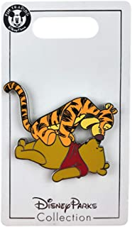 Disney Pin - Tigger Pouncing on Pooh