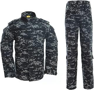 blue military uniform