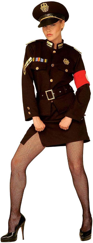 Widmann 02051 Costume de Panda pour Femme Noir//Blanc Taille S