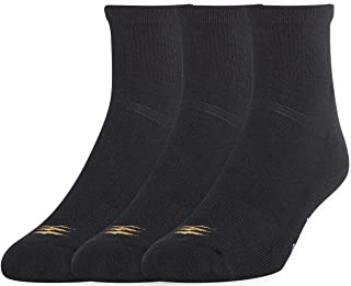 PowerSox Cushion Quarter Socks with Coolmax, 3 Pairs