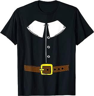 Funny Thanksgiving Pilgrim Outfit T Shirt Gift T-Shirt