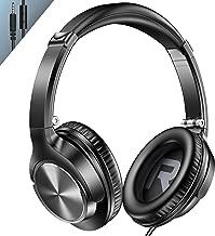 Vogek Over Ear Headphones with Mic, Lightweight Portable...