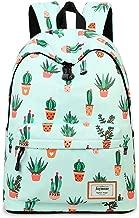 Joymoze Fashion Leisure Backpack for Girls Teenage School Backpack Women Print Backpack Purse Cactus