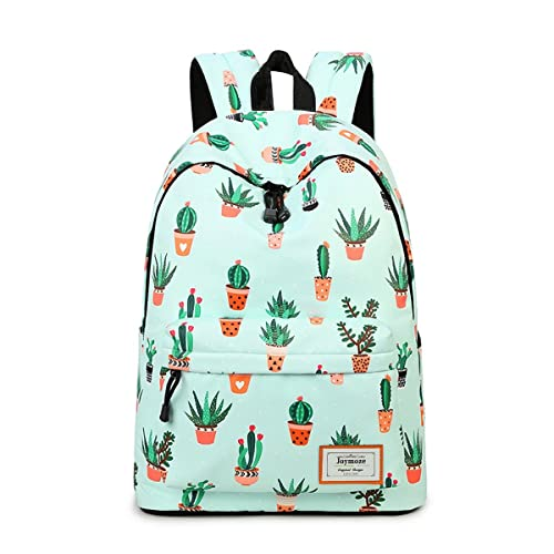 6376136899 Joymoze Fashion Leisure Backpack for Girls Teenage School Backpack Women  Print Backpack Purse Cactus