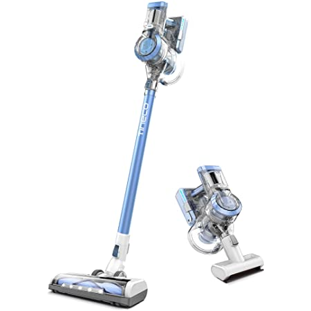 Tineco A11 Hero Cordless Lightweight Stick/Handheld Vacuum Cleaner, 450W Motor for Ultra Powerful Suction for Carpet, Hard Floor & Pet