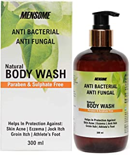 MENSOME Anti Bacterial and Anti Fungal Body Wash with Apple Cider Vinegar, Oregano Oil, Turmeric Oil and Other Therapeutic...