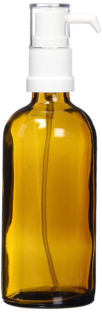 セッティングアルネグラムease ポンプ ガラス 茶色 100ml
