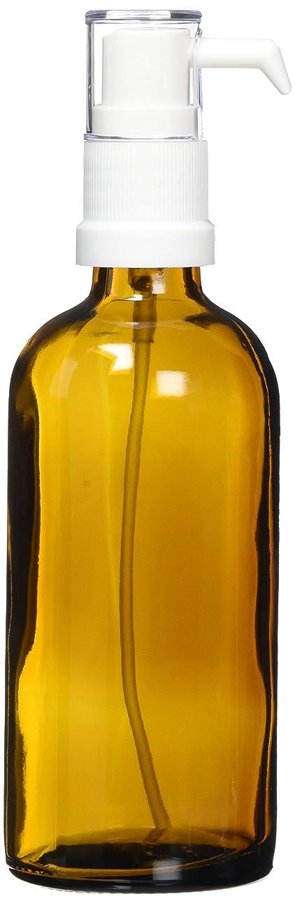 きれいにレッドデート伝染病ease ポンプ ガラス 茶色 100ml