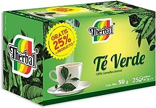 Therbal, Té Verde 25 sobres, 50 gramos