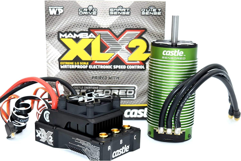 Castle Creations 1 5 Mamba Daily bargain sale Max 47% OFF XLX2 ESC Sensored Comb 1100Kv Motor