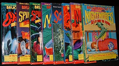 Bruce Coville Collection 7 Volumes (Book of Spine Tinglers I & II, Book of Ghost II, Book of Magic, Book of Aliens, Book of Monsters II, Book of Nightmares)