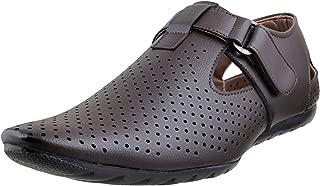 Walkway Men's Brown Outdoor Sandals (18-405)