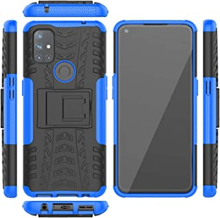 DAMONDY for Oneplus Nord N10 Case,Oneplus Nord N10 5G Case with Kickstand, Full-Body Dual-Layer Shockproof Protective Cove...
