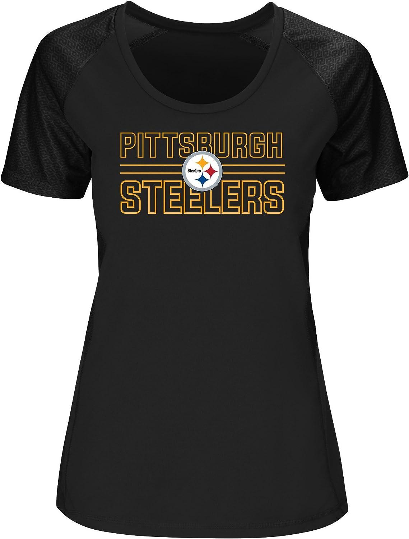NFL Womens Steelers S S Scoop Neck Tee