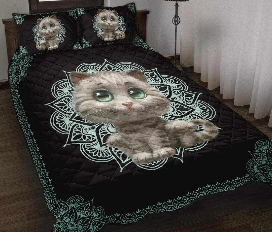 Cheap mail order specialty store Personalized Cat Quilt Birthday Free shipping on posting reviews Boys Decorative f Best Gift Kids