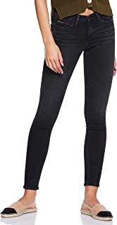 Tommy Hilfiger Women's Dw0Dw04735-Black Tommy Hilfiger Skinny Jeans for Women - Black