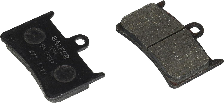 Rapid Some reservation rise Galfer FD178G1054 Semi-Metallic Pad Brake Organic