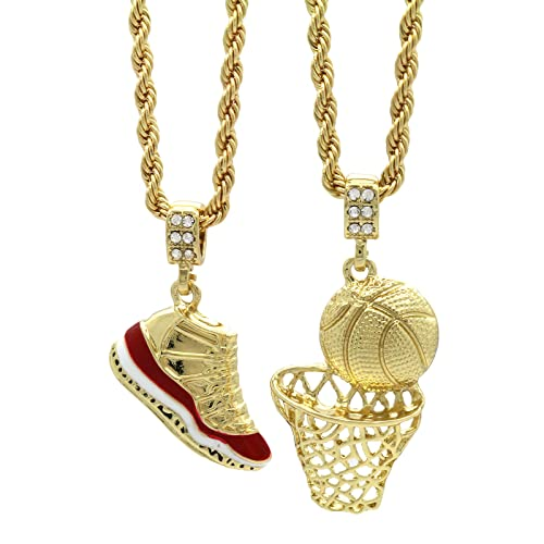 a52493a70dc Mens Gold Plated HipHop Retro 11