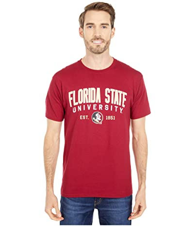 Champion College Florida State Seminoles Jersey Tee (Garnet 3) Men