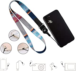 Cell Phone Lanyard Detachable, Universal Phone Neck Strap, Soft Phone Lanyard Neck Strap Case Holder, Crimmy Smartphone Strap(pbg)