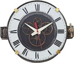 "Pendulux, Wall Clock, 9"" H x 11"" W x 5"" D, 3.05 lbs - Chicago Factory"