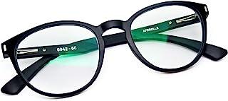 AFERELLE® Zero Power Blue Light Blocking Eye Protection Glasses Unisex (Matt Black,50 mm)