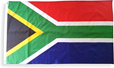 High Supply 3x5 South Africa Flag with Double Stitched Edges, 100% Polyester Fabric, and Two Brass Grommets, 3x5 South African Flag of South Africa, Republic of South Africa Flag 3x5 Foot